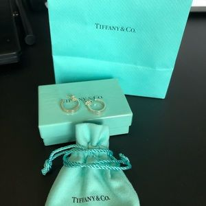 Tiffany 1837 Hoop Earrings
